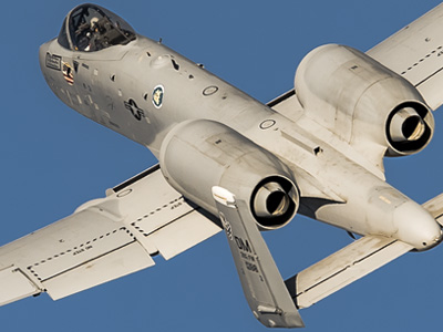 Fairchild Republic A-10C Warthog