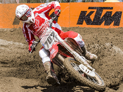 James Albertson, Honda CR450